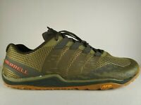 MERRELL TRAIL GLOVE 5 3D RUNNING SHOES NEW MEN'S SIZE 14 CAMO GREEN