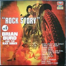 ROCK STORY VOL. 6 BRIAN BURD AND THE BLACK SABBATH 33T LP BIEM VOGUE NEUF MINT