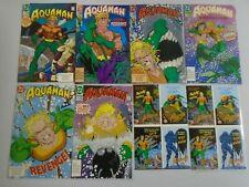 Aquaman run #1-6 + Stickers open multi-pack 8.0 VF (1992 2nd Series)