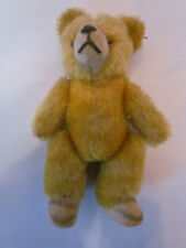 alter Teddybär, Teddy, beige - gelb, Gliedmaßen beweglich, 13 cm