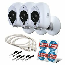Swann Smart Home HD Security Camera Kit , 100% Wire-Free, Indoor/Outdoor 3 Pack