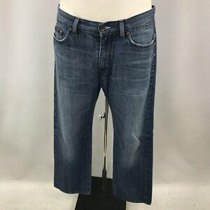 Hugo Boss Jeans Men's W36 L32 Blue 100% Cotton Denim Casual Trousers 123683