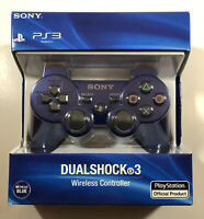 Metallic Blue Sony DualShock 3 (PS399007) Controller - AUTHENTIC PS3 - FAST SHIP