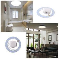 442E 12W 24 SMD LED Panel de ahorro Círculo anular Home Práctico Lam Luz de Techo