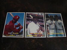 1990 SCD Baseball Pocket Price Guide Cards---Lot Of 3---Smith, Gwynn, Mattingly