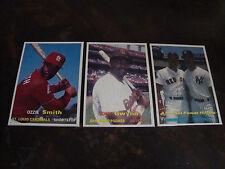 1990 SCD Baseball Pocket Price Guide Cards---Lot Of 3---Smith, Gwynn, Mattingly