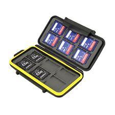 JJC MC-SD12 wasserdicht Tough Memory Card Case passt 12 x SD-Karten