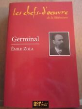 Emile Zola: Germinal/ Les Chefs-d'Oeuvre de la Littérature Nov'Edit, 2005