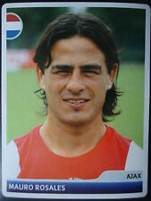 Panini 357 Mauro Rosales Ajax Amsterdam UEFA CL 2006/07