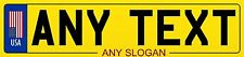 EUROPEAN STYLE PERSONALISED LICENCE PLATE MAGNETS NUMEROUS COUNTRIES