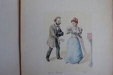 L'oeuvre de Zola (16 simili aquarelles de Lebourgeois - 1898)