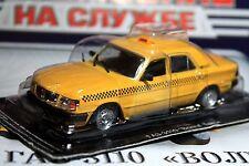 1:43 GAZ-3110 Volga taxi + magazine  #9