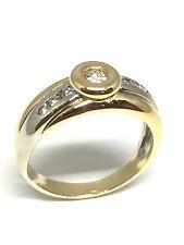 Solitaire Or 18 Carats 750/1000 , Diamants , Mariage , Bague de Fiançailles