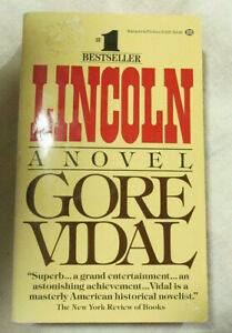 Lincoln by Gore Vidal (1985, Paperback, Ex-Library)