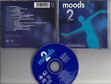 MOODS 2 1992 CD VIRGIN Mike Oldfield Roxy Music The Edge U2 Roger Eno Enya etc