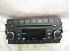 08-12 Jeep Dodge Chrysler Radio MP3 6 Disc CD DVD RDS Face Plate 05064951AC