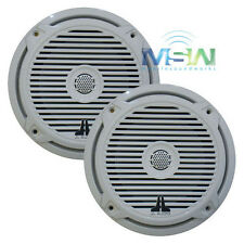 "JL AUDIO MX650-CCX-CG-WH 6-1/2"" MARINE COAXIAL SPEAKERS WHITE CLASSIC GRILLES"