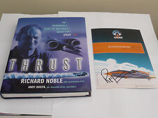 Thrust By Richard Noble + Signed Card