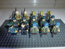WW2 150 Figure Custom Battle Set 75 US Army and 75 German Army Figures & Gear