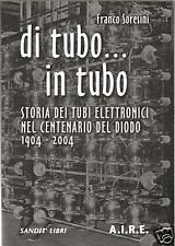 DI TUBO ...IN TUBO (Libro radiotecnica,radio a valvole)