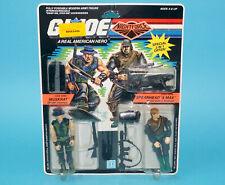 1989 GI JOE NIGHT FORCE MUSKRAT v2 & SPEARHEAD & MAX v2 MOSC MOC US CARD HASBRO