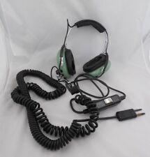 David Clack P/N 18935G-02 Pilot Headset #56