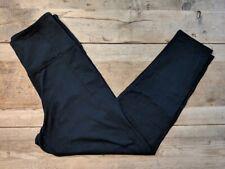 PINK Victoria's Secret Pure Black X-Small High Waist Essential Ankle Legging VS