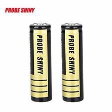 2pcs 18650 3200mAh 3.7v Li-ion BRC Rechargeable Battery For LED Flashlight Torch