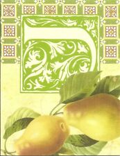 Lot 4 Greeting cards (Pear Fruit)