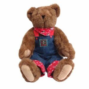 The Vermont Teddy Bear Co. Vintage Brown Teddy Bear (circa 1993)
