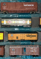 HO Scale Athearn 40' Billboard Reefer Car Train Cargo LOT 4 Box 15
