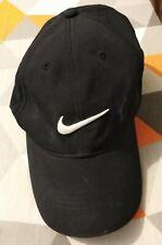 NIKE -  BLACK BASEBALL CAP - ADJUSTABLE