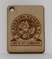 Blackburn Rovers FC keyring - High Quality Engraved - Detailed Design
