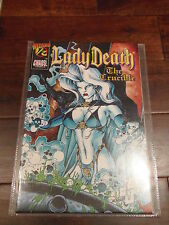 Lady Death The Crucible (1996) Wizard #1/2