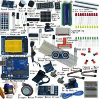 32 Lessons Professional UNO R3 Starter Kit for Arduino LCD Compass Gyro DIY