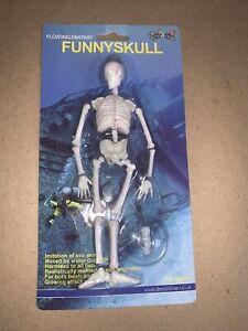 Fish R Fun Floating Fantasy Funny Skull.  Aquarium Decoration.