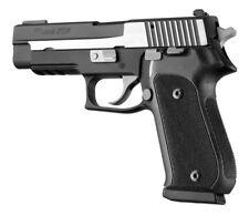 Hogue 20179 SIG Sauer P220 American Checkered G10 Grips Black