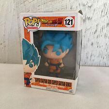 Funko Pop! DragonBall Z Resurrection F Super Saiyan God Goku in Blue #121