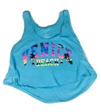 Venice Beach Crop Top Miami Style Medium Tank