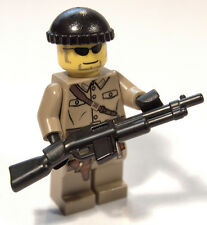 Brickarms BAR (Browning Automatic Rifle) for Lego Minifigures (5 Pack) Black
