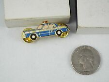 BLUE POLICE CAR URBAINE MONTREAL 911 PIN