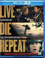 Live Die Repeat: Edge of Tomorrow (3D + 2D Blu-ray+ DVD + Ultraviolet Copy 2014)