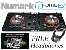 Numark Mixtrack Pro 3 - 2 Channel Serato MIDI USB DJ Controller FREE Headphones