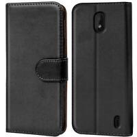 Book Case für Nokia 1 Plus Hülle Tasche Flip Cover Handy Schutz Hülle Handyhülle