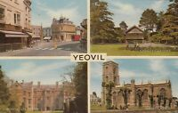 Postcard - Yeovil - 4 Views