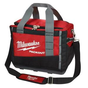 Milwaukee 48-22-8321 15-Inch Heavy Duty PACKOUT Polyester Carrying Tool Bag 2021