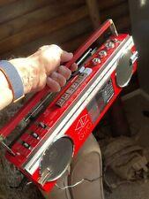 VINTAGE SHARP QT-70(R) STEREO RADIO CASSETTE PLAYER-JAPAN radio works - not tape