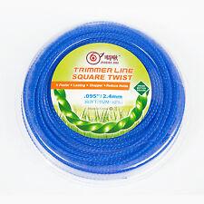 "Quality ZHOUJIU Spool Line Grass Trimmer .95""/2.4mm 367FT/112M  SQUARE TWIST"