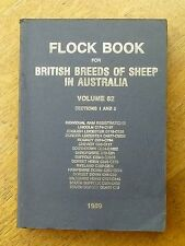 Flock book for British breeds of sheep in Australia: V.30 Section 2 (HB, 1938)