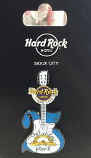 Hard Rock Hotel SIOUX CITY 2015 Saturday in the Park 25th Anniv GUITAR PIN 85287